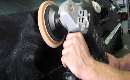 Фото полирования кузова авто