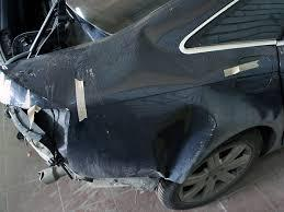 Фото повреждений авто до ремонта